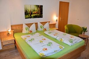 Ferienwohnung Breitenberg - Schlafzimmer